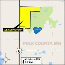 Property Lines Map Sale Pending 392 4 Acres Polk County Mn Pifer U0027s
