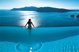the best infinity pools in greece