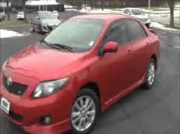 2010 toyota corolla s for sale used 2010 toyota corolla s for sale at honda cars of bellevue an