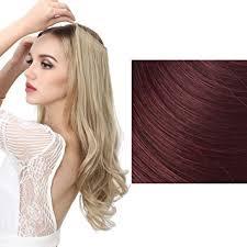 halo hair amazon com sarla halo synthetic hairpieces flip in women hair