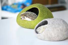 small pet beds hedgehog bed small animal cave small pet bed felted pet