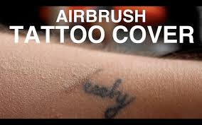 Makeup Forever Airbrush Tutorial Airbrush Tattoo Cover Youtube