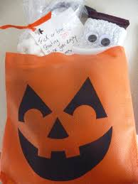 halloween pumpkin bag special treats for extra special trick or treaters play dr mom