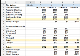 Small Business Accounting Excel Template How To Track Personal Business Finances In One Spreadsheet