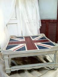 Union Jack Pallet Table The by Vintage Antique British Union Jack Flag Coffee Table End Union