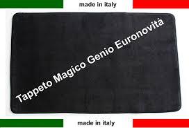 tappeto magico prezzo tappeto magico genio 50x110 nero vari colori antiscivolo
