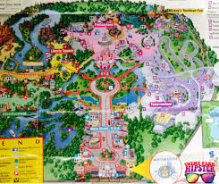 Magic Kingdom Map Orlando by Chicken Soup For The Soul Disney Nostalgia Themeparkhipster