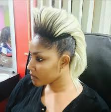 naigerian actresses hairstyles 10 nigerian celebrities with the most crazy hairstyle afrikanfacts com