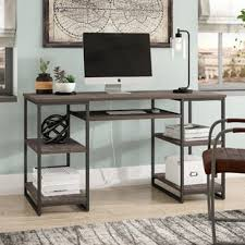 Solid Computer Desk Solid Wood Computer Desks You Ll Wayfair