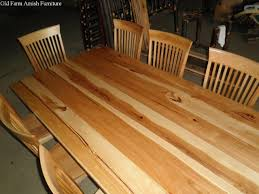 Amish Made Dining Room Tables by Custom Dining Room Table U0026 Chairs By Old Farm Amish Furniture