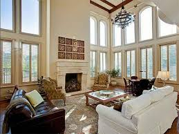 Decorating Ideas For Living Rooms With High Ceilings Living Room Vaulted Ceiling Construction High Ceiling Living