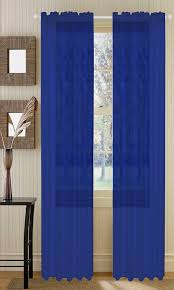 Crushed Sheer Voile Curtains by Amazon Com 55