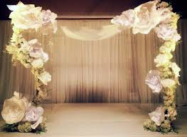 wedding backdrop paper flowers paper flowers for wedding