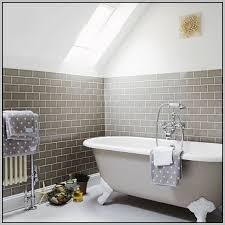 light grey subway tile bathroom tiles home decorating ideas