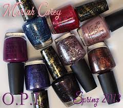 mariah carey opi spring 2013 nail polish swatches u0026 review all