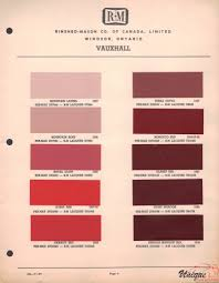 vauxhall pink vauxhall paint chart color reference