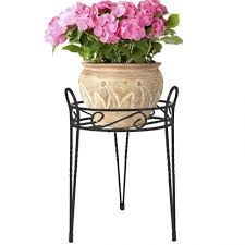 plant stand singular outdoor plant pot holders photo