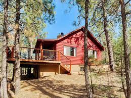 rustic cabin wonderful rustic cabin outside of show low vrbo