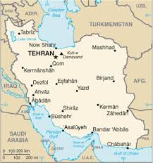 Map Of Persian Gulf Neurological Letter From Iran Practical Neurology