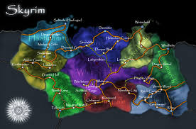 Map Of Skyrim How Big Is The Add On Dragonborn Solstheim The Elder Scrolls