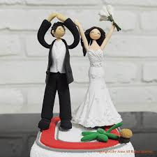 football wedding cake toppers ohio state wedding cake topper 16 best osu wedding images on