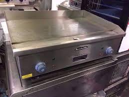 brand new commercial flat grill takeaway restaurant bbq meat steak