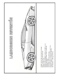 more lamborghini coloring pages