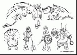 magnificent train dragon hiccup coloring pages