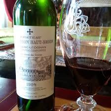 château style wine and a my 1998 château la mission haut brion pessac léognan