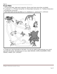 worksheets biology