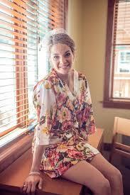 code a 2 for the lovely bride floral kimono robe bridesmaid