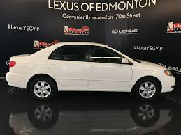 lexus wheels on corolla pre owned 2005 toyota corolla le 4 door car in edmonton l12534b