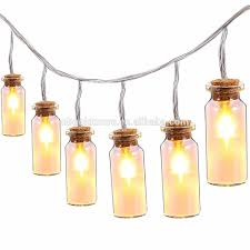 Bulb Lights String by Battery Operated Garden Patio Party Wedding Decoration Outdoor
