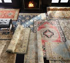How To Make A Faux Fur Rug Eva Persian Style Rug Pottery Barn