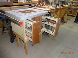 Router Cabinet by Table Saw Extension Router Cabinet Kreg Owners U0027 Community