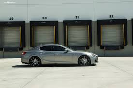 maserati ghibli wheels vip never looked better custom silver maserati ghibli u2014 carid com