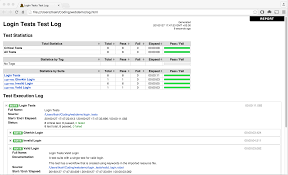 debriefing report template robot framework examples