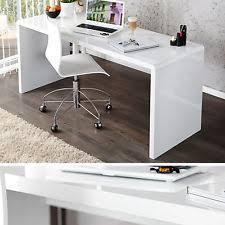 designer schreibtisch wei schreibtische und computermöbel in weiß ebay