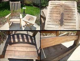 Refinishing Teak Patio Furniture Restoring Teak Patio Furniture Loverelationshipsanddating Com