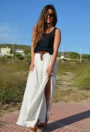 summer skirts best ways to wear your maxi skirt in summer fashiongum
