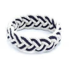 bracelet knots images Sailor knot bracelet navy and white sailor bracelet jpg