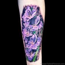 55 tremendous gladiolus flower tattoos
