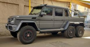 mercedes g63 amg suv 6x6 continued 25 imports spotted on indian roads