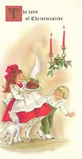 vintage christmas card with a couple 1 2 2014 christmas cts