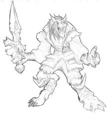 world of warcraft drawings bing images coloring pages for