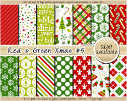 christmas pattern red green sale christmas digital paper red and green christmas digital paper