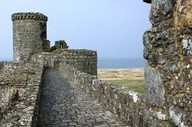 Historical Castles by Harlech Castle