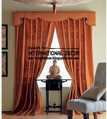 Red Orange Curtains Classic Country Curtains For Dining Room Burgundy Curtains