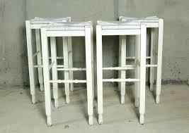 pottery barn bar table shabby chic bar stools four pottery barn white shabby chic bar