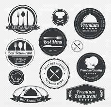 Home Design Vector Free Download Premium Restaurant Menu Label Set Free Download
